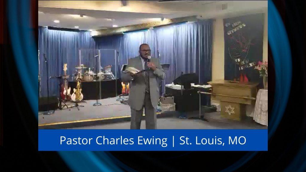 Elder Charles Ewing Preaching At Hispanic Church