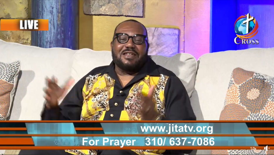 Pastor Charles Ewing Live On The Cross Network Part 2